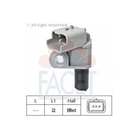 Czujnik położenia wałka FIAT 9665443680