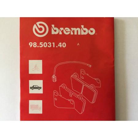 Czujnik zużycia klocków BREMBO AUDI VW 7L0907637
