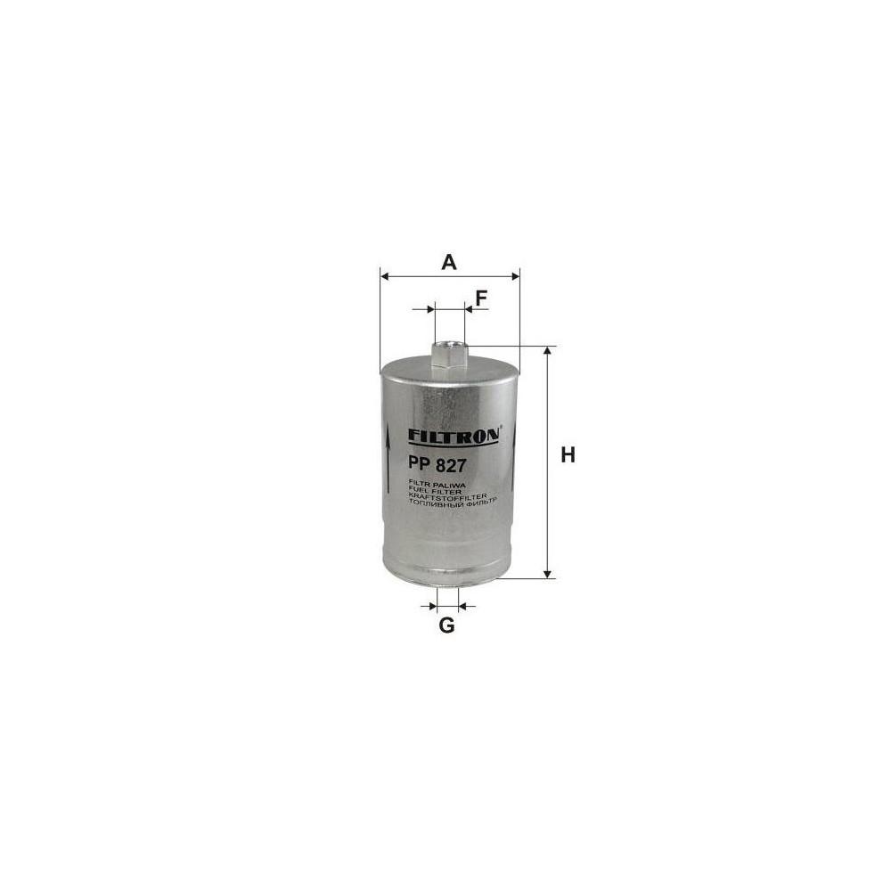 Filtr paliwa PASSAT CADDY AUDI A4 A6 A8 431133511D