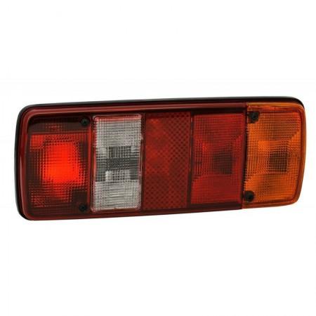 Lampa 5-segmentowa prawa 12/24V tylna żarówkowa