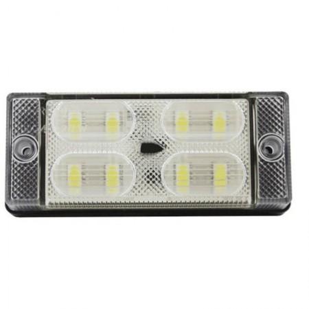 Lampa cofania diodowa 8 LED 12/24V homologacja ECE