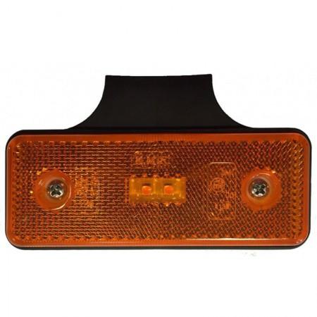 lampa obrysowa pomarańczowa H-5 KMR 12/24 2 LED
