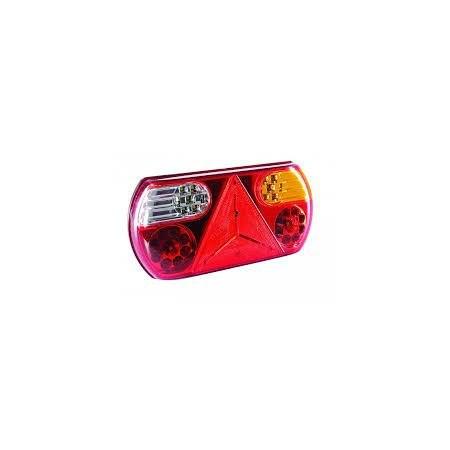 Lampa tylna 12/24 V 32 LED trójkąt prawa homol.ECE