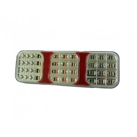Lampa tylna 36 LED 12/24V p.mgielna stop cofania