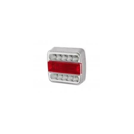 Lampa tylna zespolona biało-czerwona diod 10 LT70
