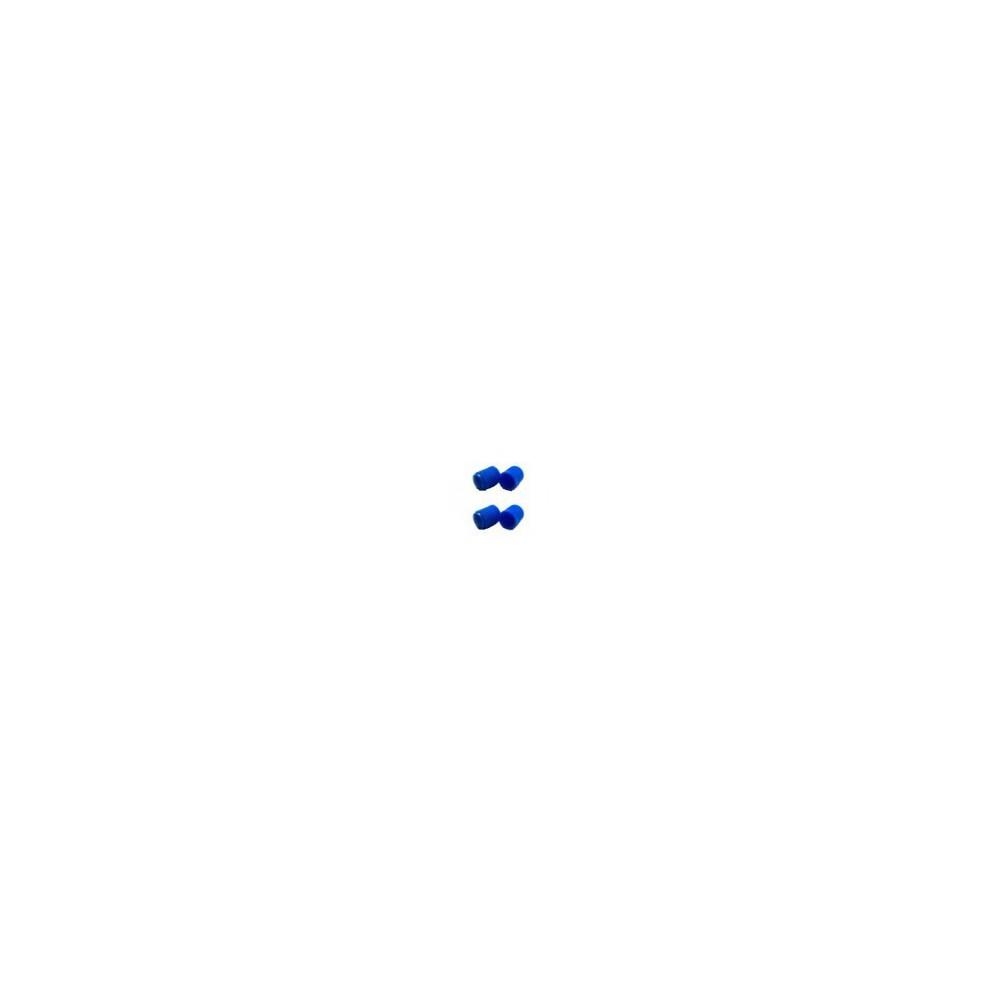4 szt. Kapturek nakrętka niebieska na wentyl koła